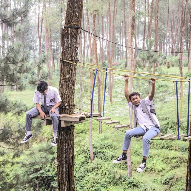 Tiket Masuk Taman Ceria Warangan Wonosobo