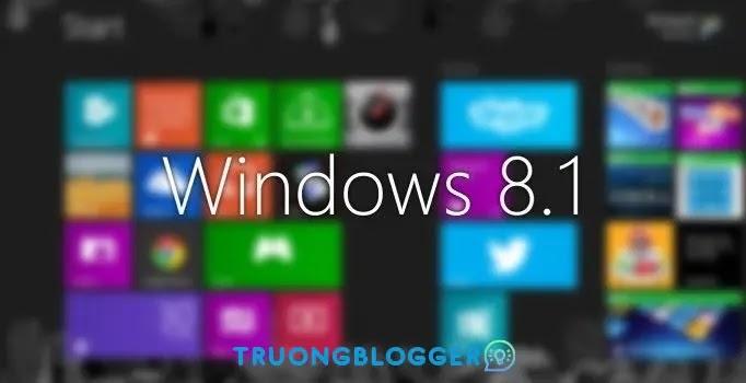 Windows 8.1 Pro (32 Bit + 64 Bit) Lite bản rút gọn dành cho máy tính, laptop cấu hình thấp