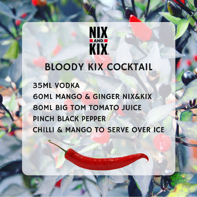 Bloody Kix Cocktail using NIX&KIX
