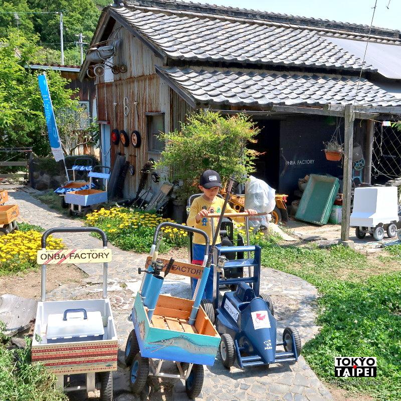 【Onba Factory】藝術與生活結合 製造創意手推車的工場