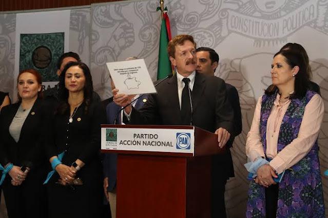 PAN apoyará periodo extraordinario siempre y cuando se discutan temas que beneficien a México