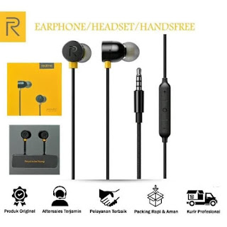 Headset REALME Buds Magnetic MA10 In Ear Earphone Sporty with Mic3.5mm