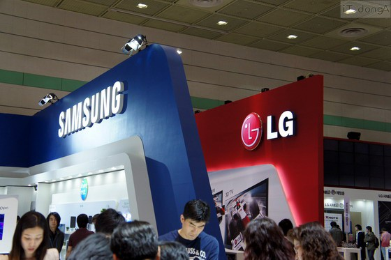 Samsung dan LG musuh