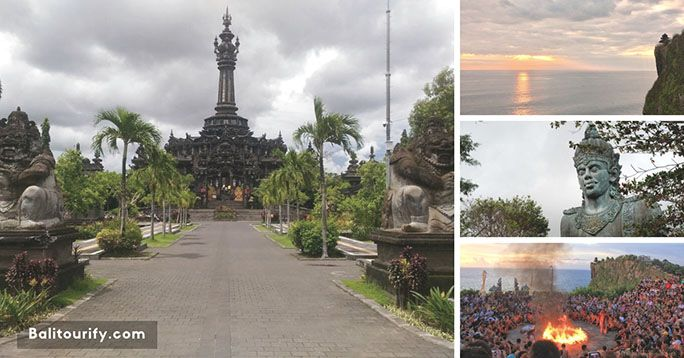 Denpasar City and Uluwatu Temple Bali Sunset Tour Package, Full Day Bali Tours and Activities, Day Trips Itinerary, Bali Driver Hire