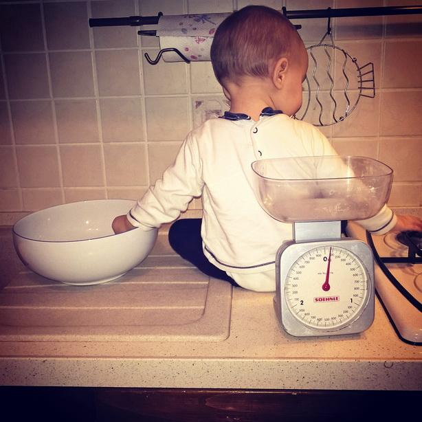 cucinare con bambini piccoli