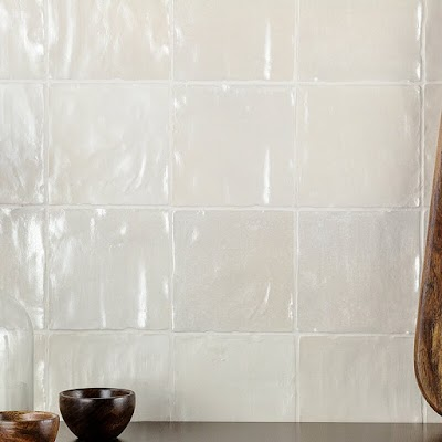 ceramic square shimmer tile