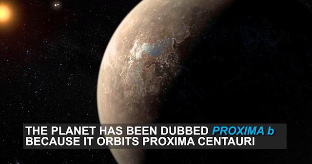 اكتشاف كوكب شبيه بالأرض Proxima B يرجح العلماء أنه سطحه مغطى بالكامل بمحيط من الماء السائل