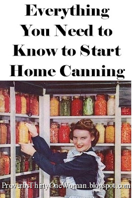 How to Start Canning Food at Home