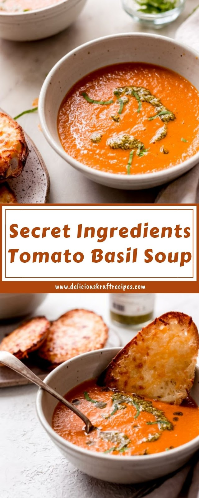 Secret Ingredients Tomato Basil Soup