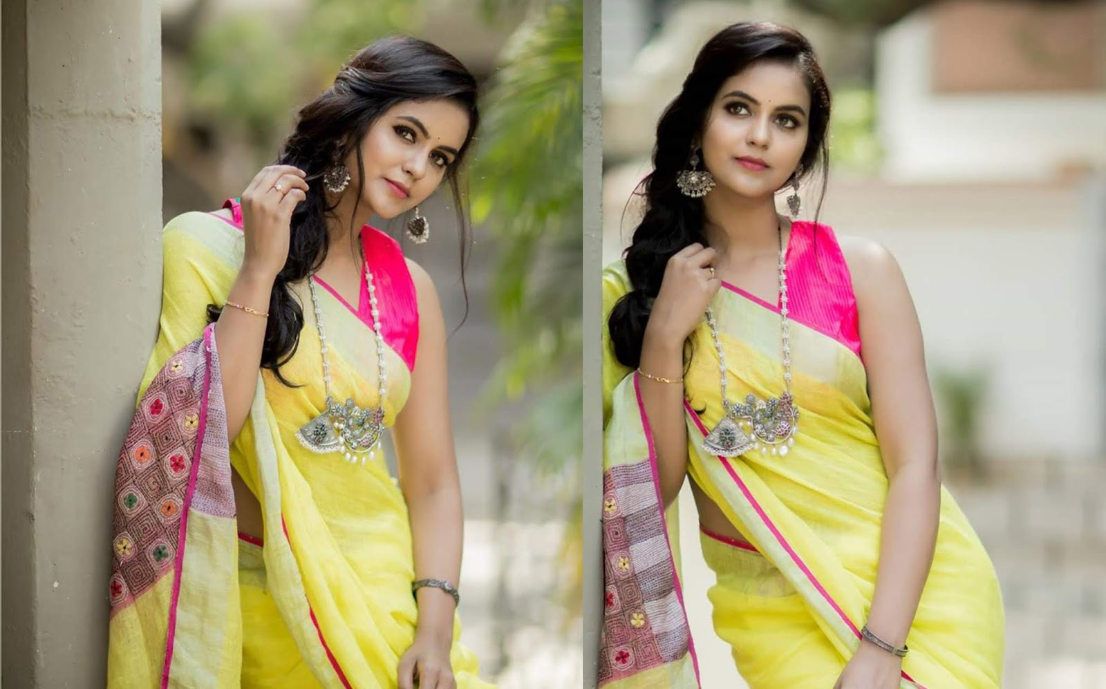 Actress Chaitra Reddy Latest Saree Phtoos By Camera Senthil