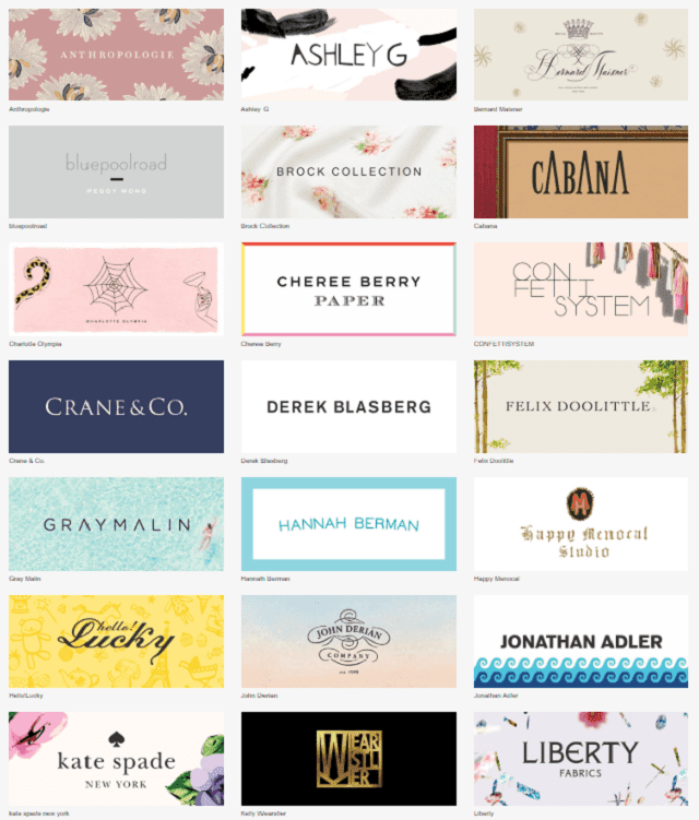 Paperless Post Designer Collection