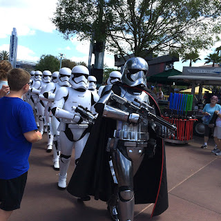disney hollywood studios stormtroopers captain phasma