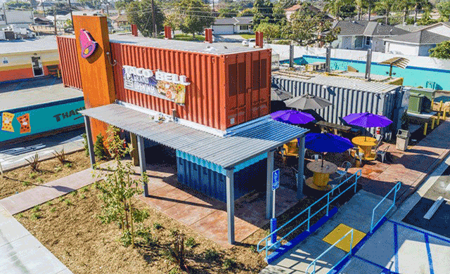 Taco Bell-Restaurant,Container Cafe