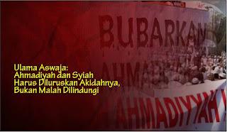 Ulama Aswaja: Ahmadiyah dan Syiah Harus Diluruskan Akidahnya, Bukan Malah Dilindungi