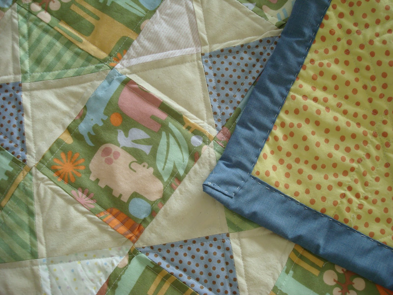 The Purple Martin Baby Quilt In A Day