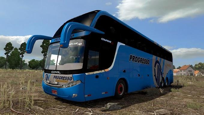 ETS 2 - Comil Campione HD MB 6x2 Otobüs Modu (1.38)