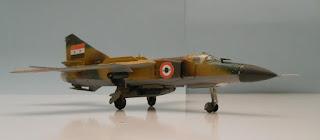 caza-bombardero soviético Mig 23 flogger