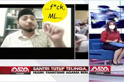 Husin Shihab Ngomong Jorok Vulgar saat Live TV, Presenter: Pak Lebih Sopan Dikit