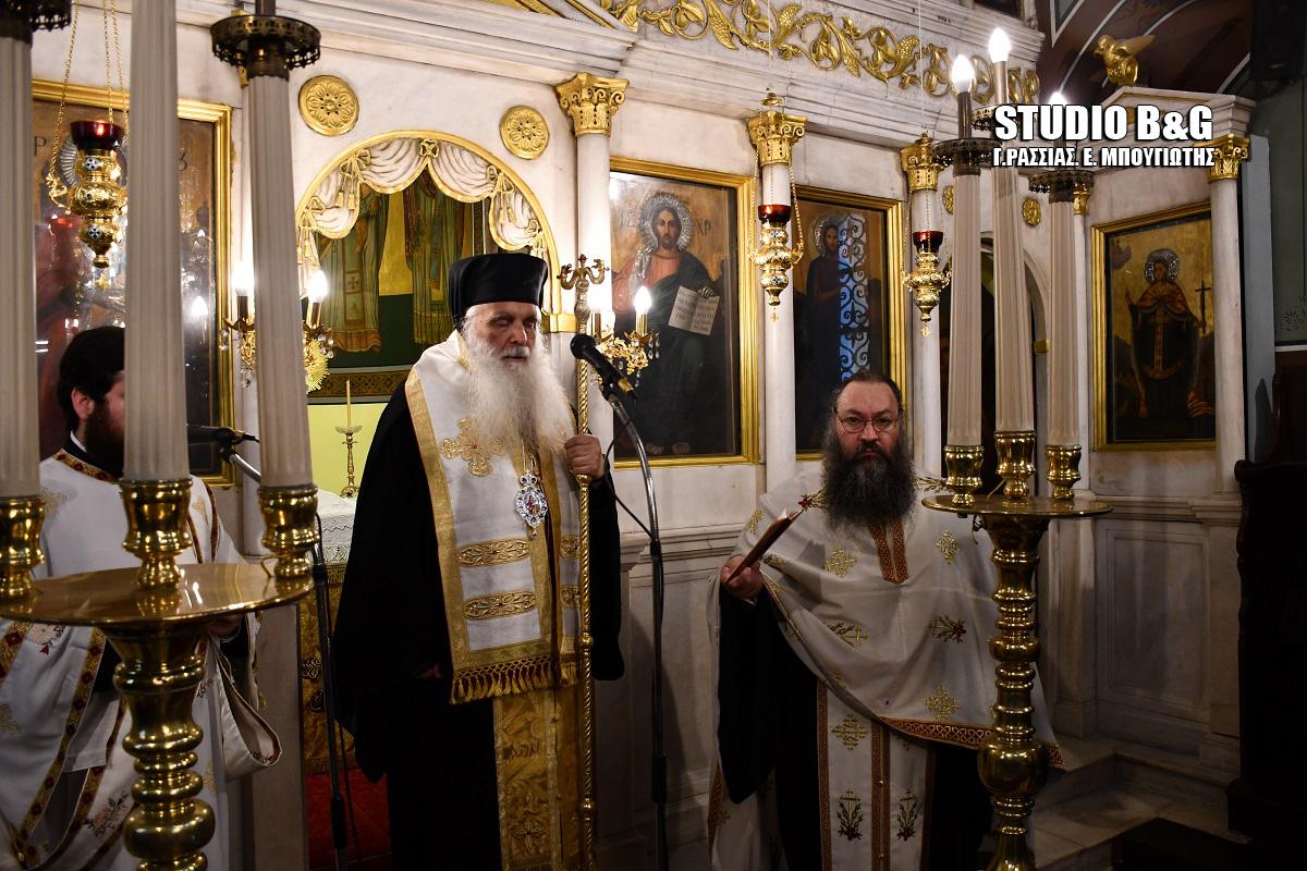 Αρχιερατικό Μνημόσυνο για τον Ιωάννη Καποδίστρια στην πόλη του Ναυπλίου