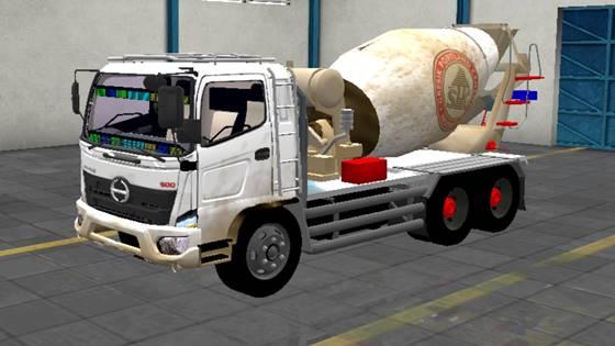 Mod Truck Hino 500 Mixer (Molen)