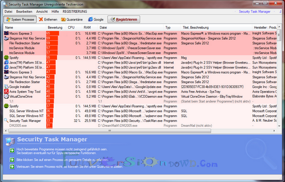 Security Task Manager Full Crack