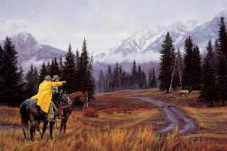 caballos-vaqueros-oeste-pinturas