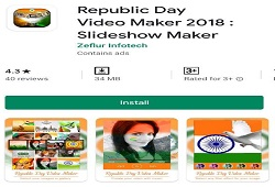 REPUBLIC DAY VIDEO MAKER & INDEPENDENCE DAY VIDEO MAKER APP