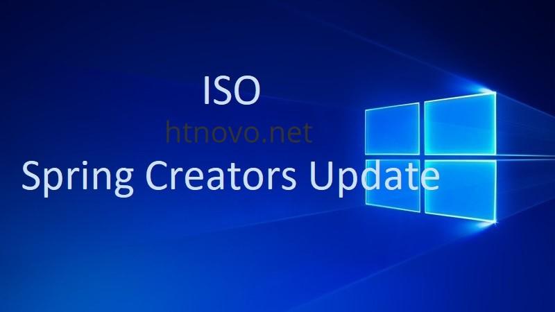 ISO-Windows-10-Spring-Creators-Update