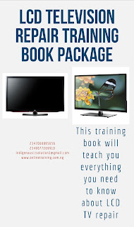 LCD Television Repair Training For Nigerians