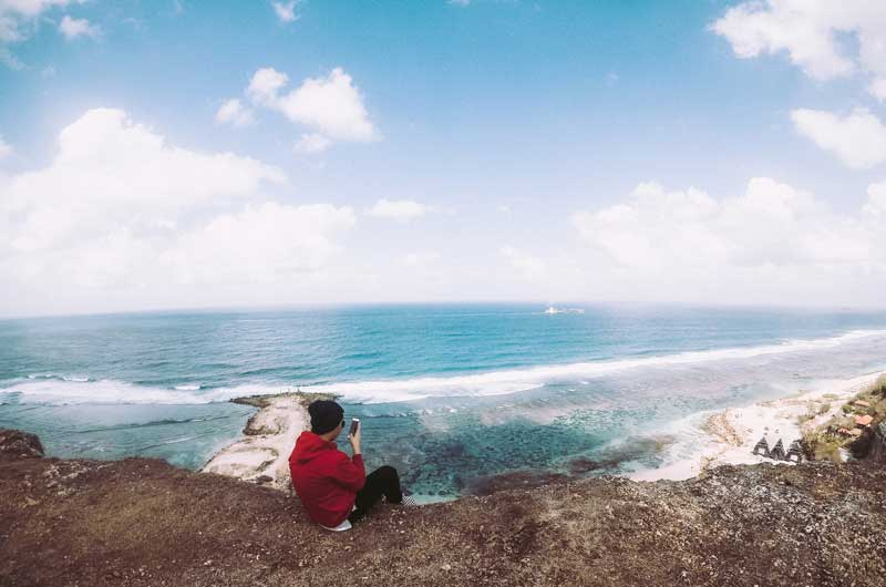 Harga Tiket Masuk Melasti Beach Ungasan Bali