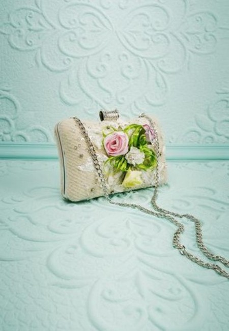 Flower Clutch – Price:$32.00 USD