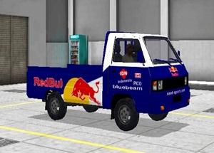 Livery Pickup Bussid Redbul