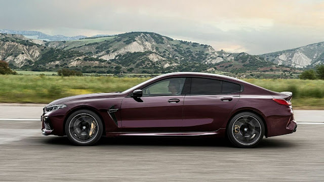 Best Features of The BMW M8 Gran Coupe