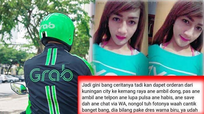 Driver OJek Online Ini Mengira Penumpangnya Cewek Seksi, Ternyata…