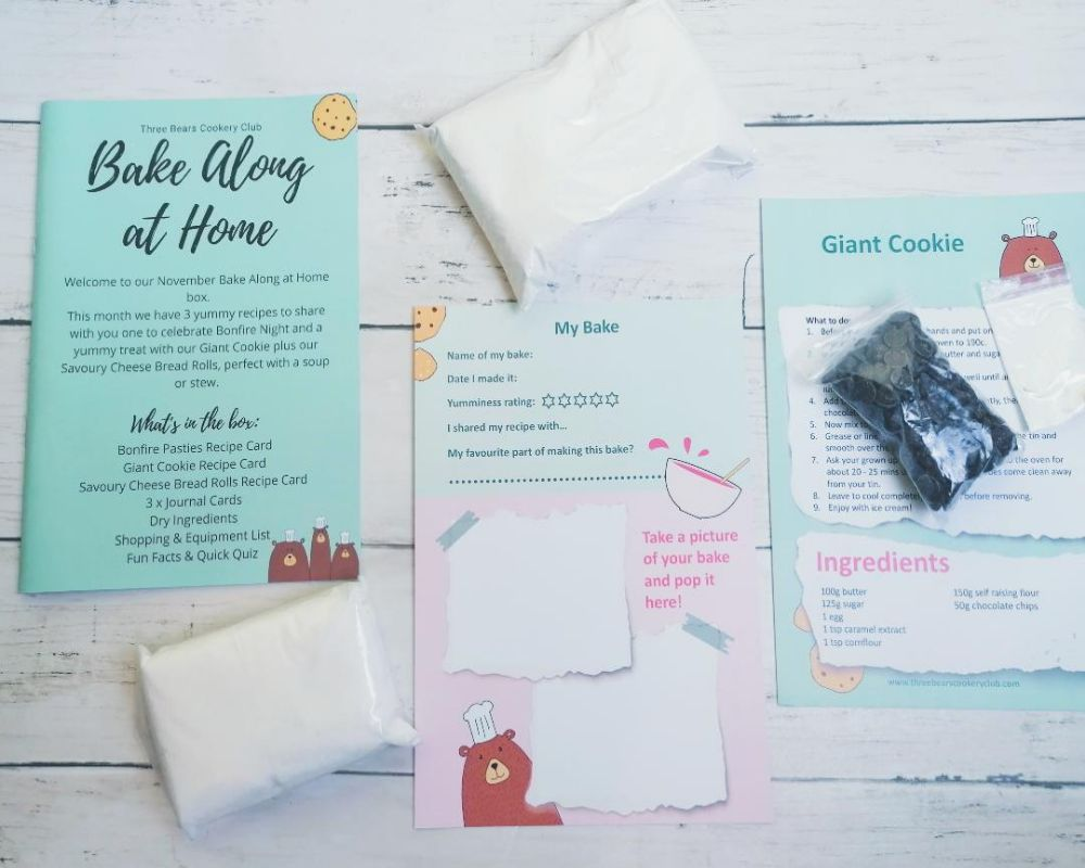 Three Bears Cookery Club Bake Along Subscription review