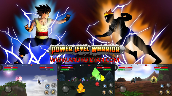 Free Download Power Level Warrior Mod Apk v1.1.6 (Unlimited Money) Android Terbaru 2017
