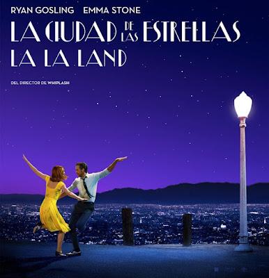 LA LA LAND - La ciudad de las estrellas - cartel españa