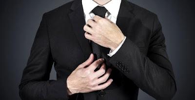 Wear a black tie