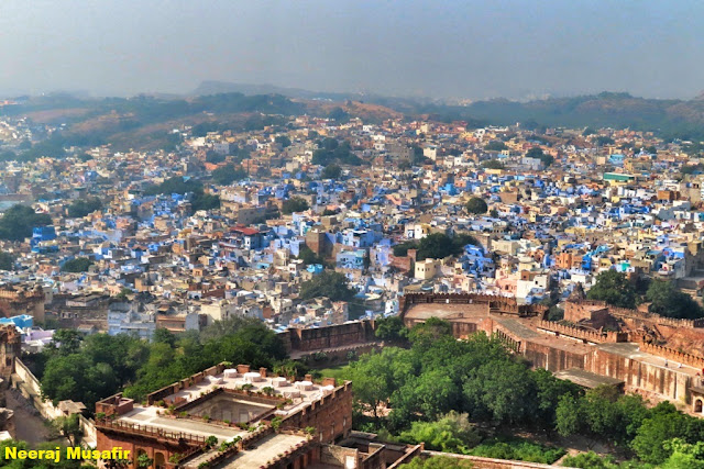 City View from Mehrangarh Fort