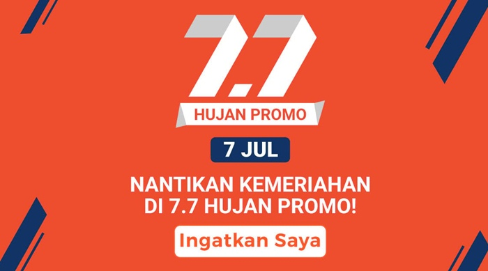 7.7 Hujan Promo - Shopee.co.id