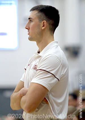 SJO head basketball coach Kiel Duval