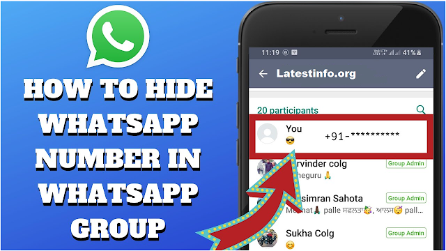 How to hide your phone number on WhatsApp?