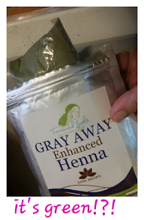 treasured locks gray away henna pack