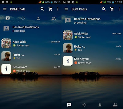 Download New BBM Template v2.13.1.14 Apk Terbaru Gratis