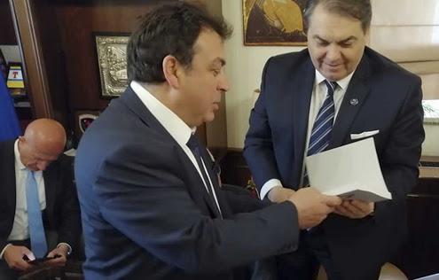Τον Δήμο Πύργου επισκέφθηκε ο Δήμαρχος Άργους - Μυκηνών Δημήτρης Καμπόσος