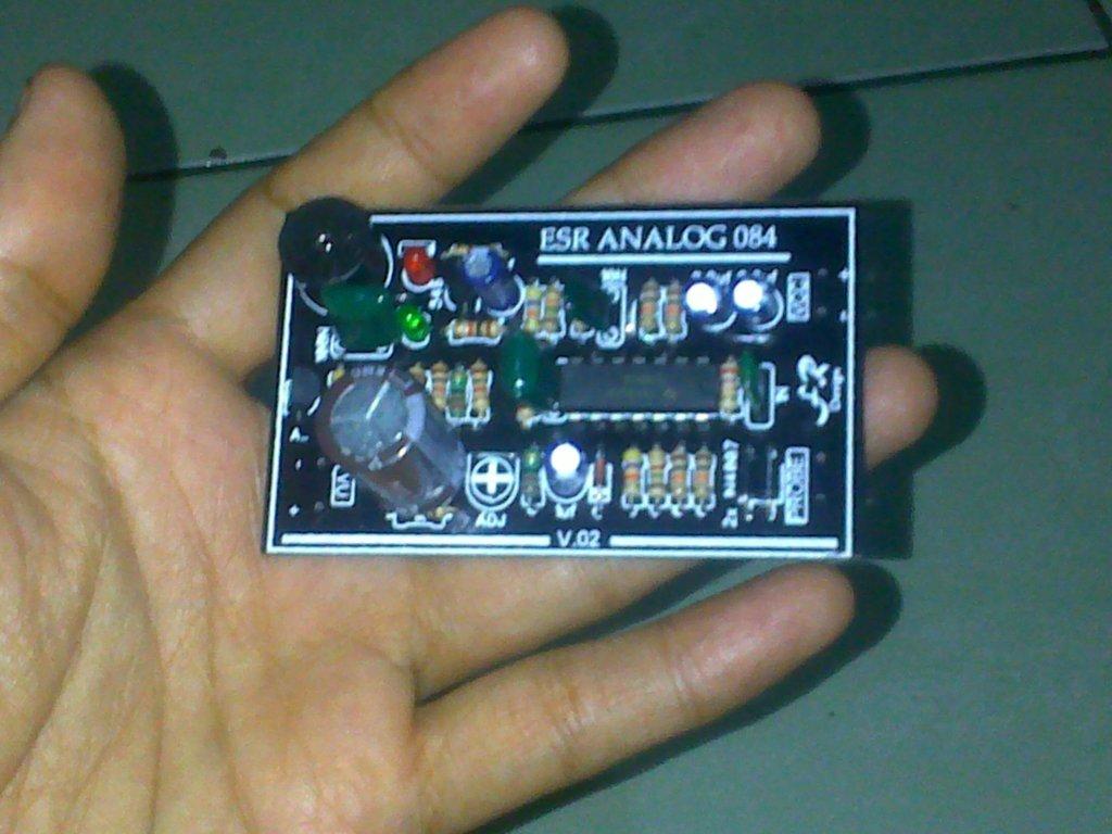 Jual Kit ESR Meter analog murah dilengkapi indikator short dan buzzer