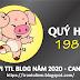 TỬ VI TUỔI QUÝ HợI 1983 NĂM 2020 ( Canh Tý )