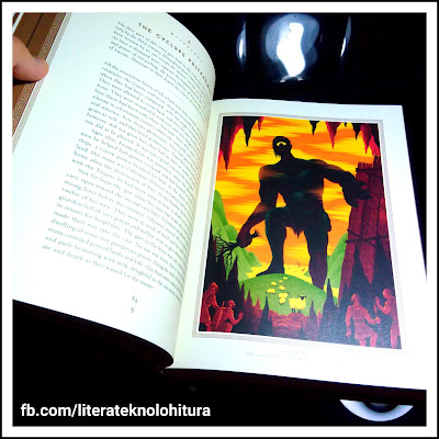 mythology 75th anniversary illustrated edition sample illustration cyclops