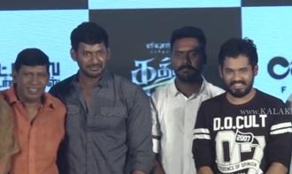Kaththi Sandai Movie Audio and Trailer Launch