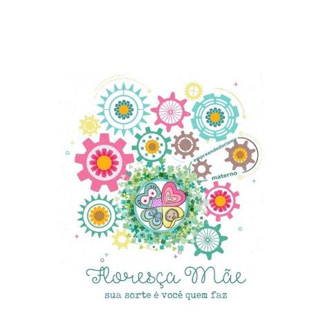 projeto floresça mãe: sua sorte é você quem faz! Logo oficial, imagem protegida!